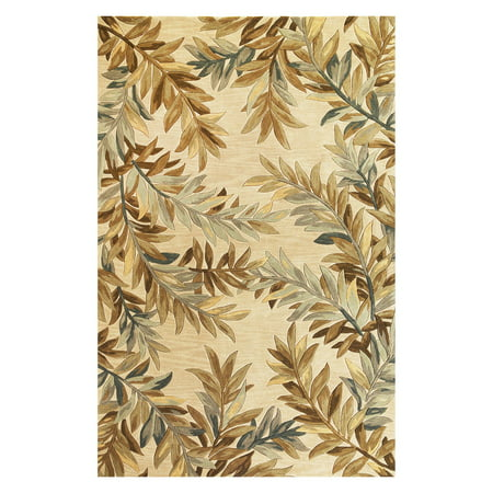 KAS Rugs Sparta Tropical Branches
