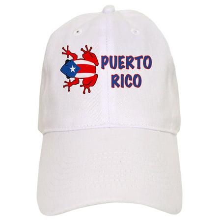 0232426323d76 CafePress - Puerto Rico - PR - Coqui - Printed Adjustable Baseball ...