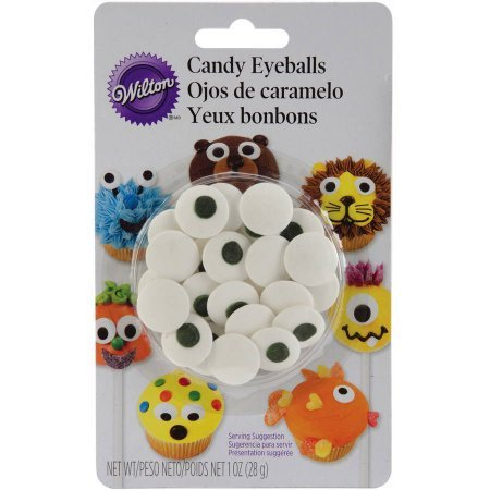 Eyeball Mirror - Wilton Candy Eyeballs, Large