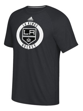 8141aec5 Product Image Adidas NHL Men's Los Angeles Kings Practice Climalite  Performance S/S T-Shirt