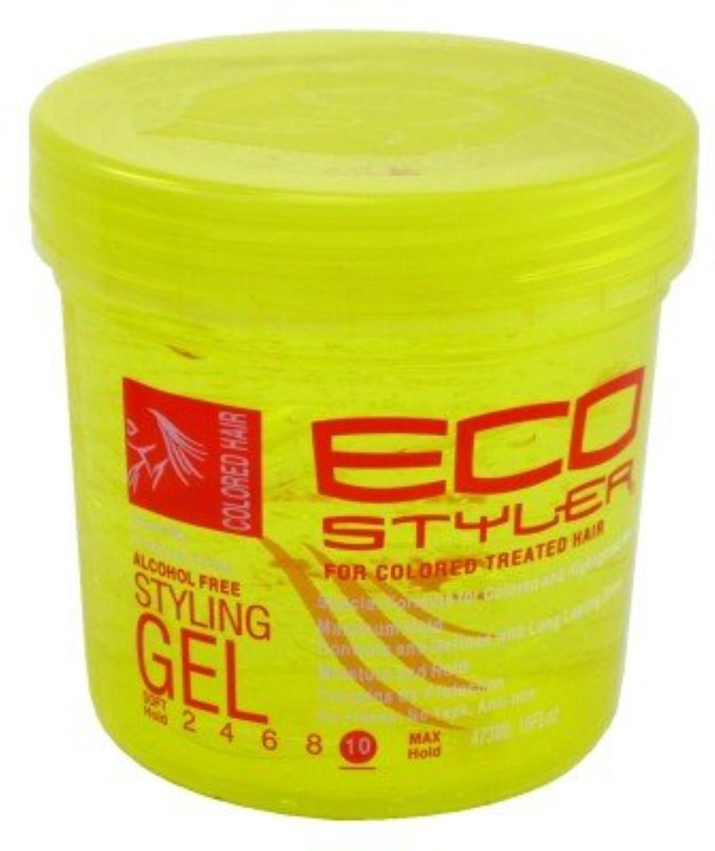 Ecoco Ecostyler Styling Gel Color Treated 16 Oz Walmart