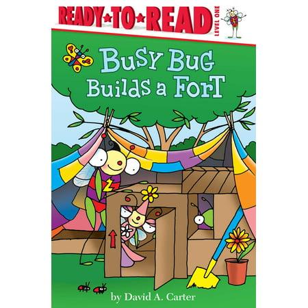 Busy Bug Builds a Fort - Build A Bug