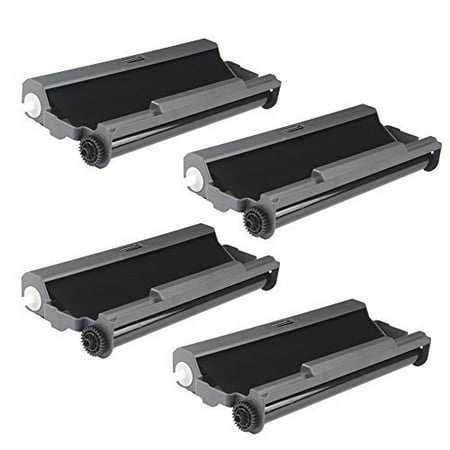 - myCartridge 4 Pack PC501 Ribbon Compatilbe with Brother FAX 575 series printers