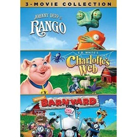 Rango   Charlottes Web  1973    Barnyard  Widescreen