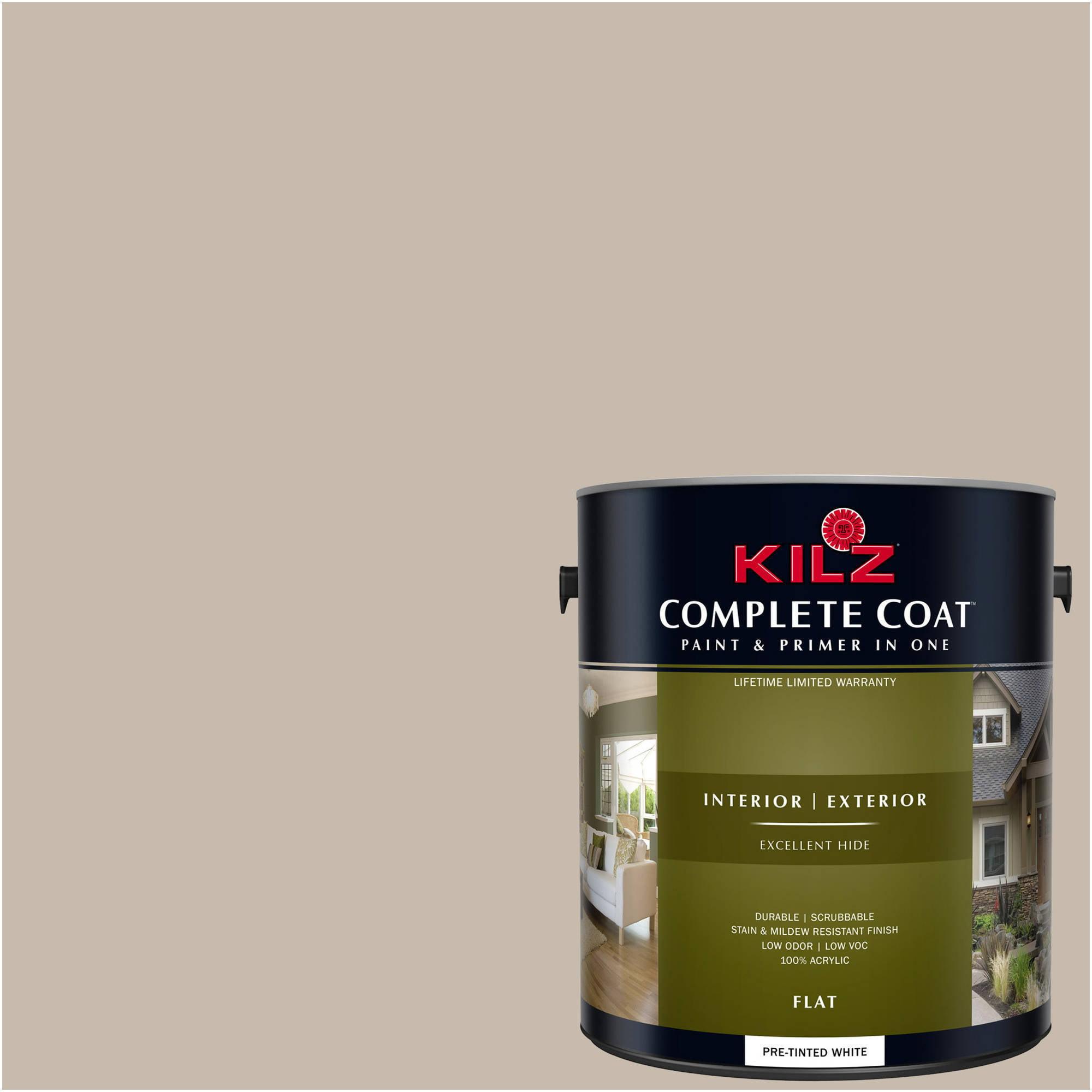 KILZ COMPLETE COAT Interior/Exterior Paint & Primer in One #LK170  Sophistication