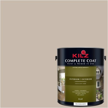 Sophistication, KILZ COMPLETE COAT Interior/Exterior Paint & Primer in One,
