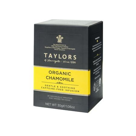Taylors of Harrogate Camomille Bio Thé, 20 sachets de thé