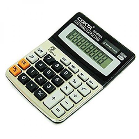 Stationary Station Business and Office Electronic Calculator, with Sound Tilted Screen for Easy (Excel Template Loan Calculator With Extra Payments)
