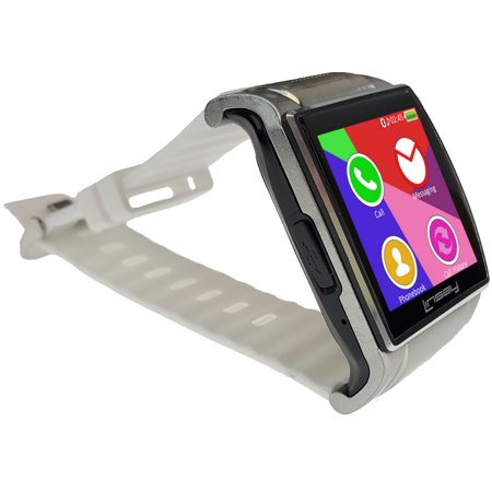 Linsay EX5LW Executive Smart Watch with Camera - White (Refurbished)