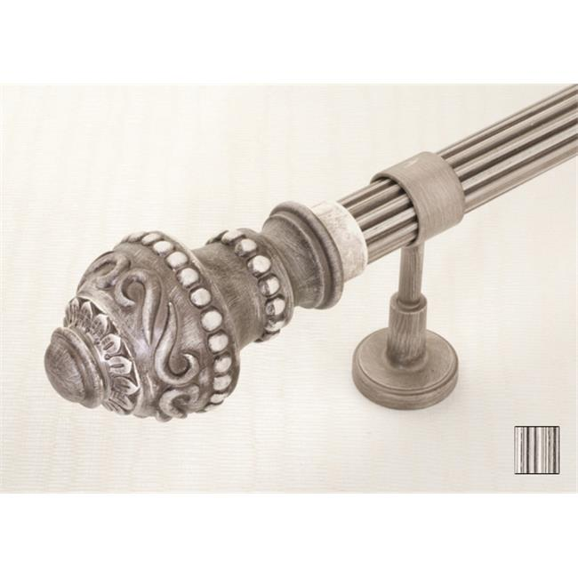 WinarT USA 8. 1087. 30. 27. 160 Palas 1087 Curtain Rod Set - 1. 25 inch - 63 inch