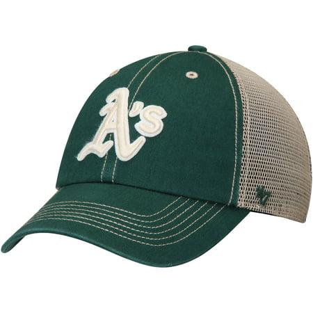 Oakland Athletics  47 Wardell Clean Up Adjustable Hat - Green Cream ... 20aad57ffcec