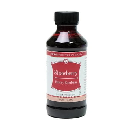 Oil Control Emulsion (Strawberry Bakery Emulsion Flavor 4 oz Lorann Oils )