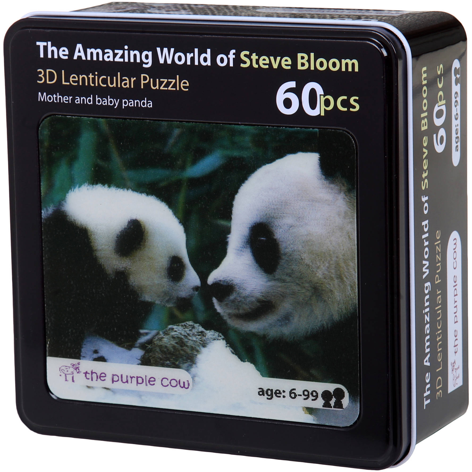 Lenticular Mother and Baby Panda