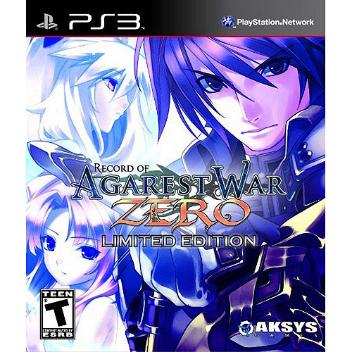 Record of Agarest War Zero: Limited Edition - Playstation 3