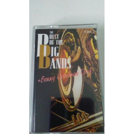 the best of the big bands benny goodman orch cassette