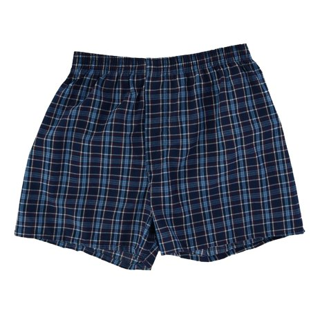 Fruit of the Loom Men's Big and Tall Woven Boxer Underwear (4 Pack) - image 4 de 7