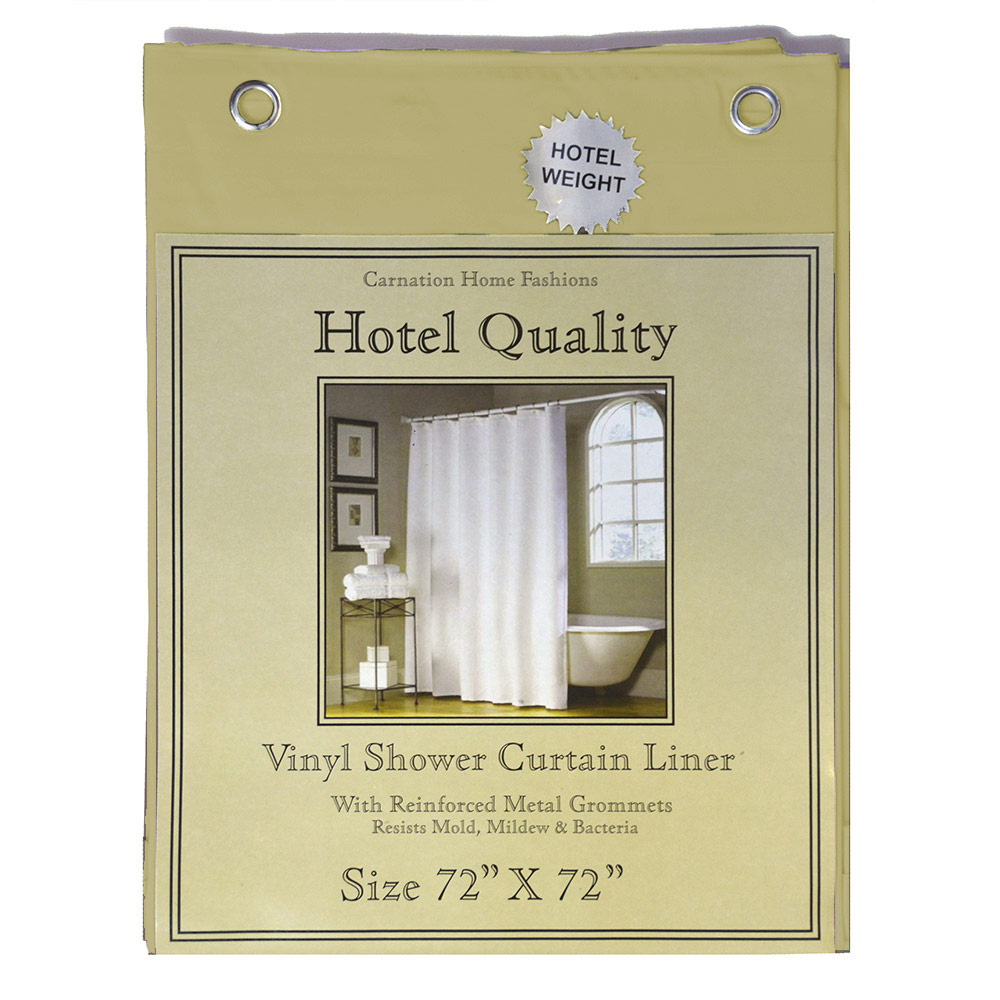"Canary Yellow Shower Curtain Liner;  Hotel Weight 8 Gauge, Metal Grommets, 72""x72"""