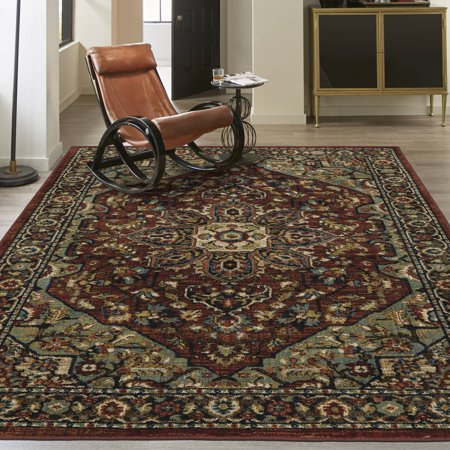 Mohawk Home Liuard Traditional Jewel Runner Rug