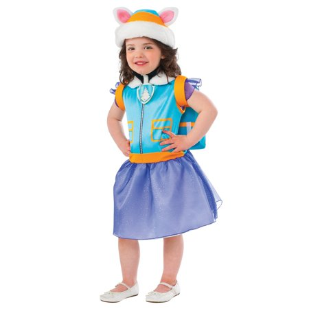 Paw Patrol: Everest Classic Toddler Costume (Female Border Patrol Halloween Costume)