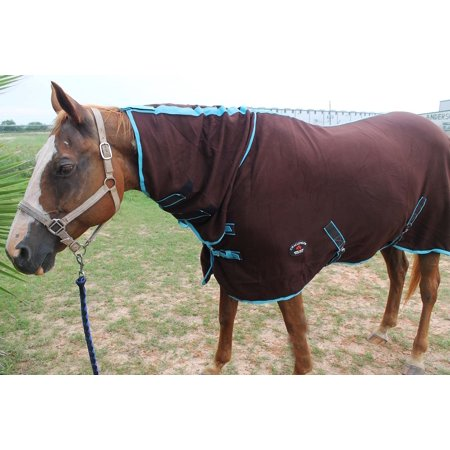 Horse Sheet Polar FLEECE COOLER Exercise Blanket Wicks Moisture 4386N