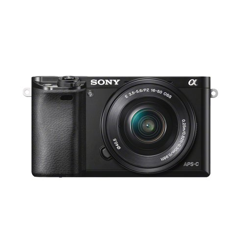 Sony Black Alpha A6000 Compact System Digital Camera with 24.3 Megapixels (Body Only)