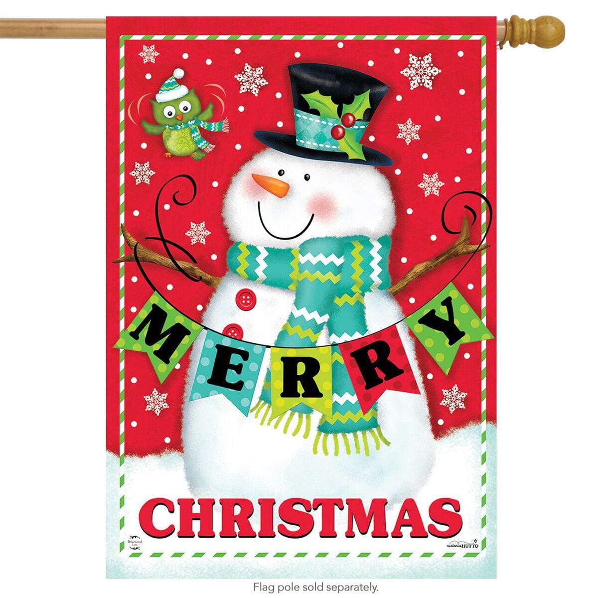 Briarwood Lane Snowman Joy Christmas Magnetic Mailbox Cover