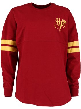 Jerry Leigh Harry Potter Long Sleeve Collegiate Top