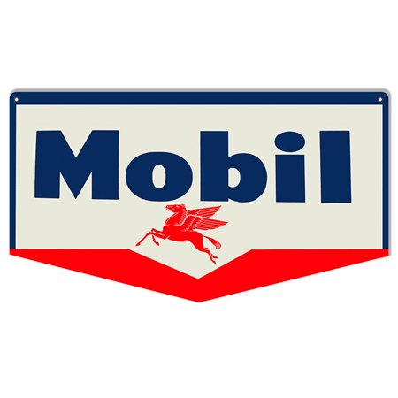 Mobil Pegasus Motor Oil Sign 10