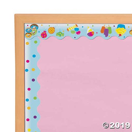 Sweet Treats Bulletin Board Borders - Borders For Bulletin Boards