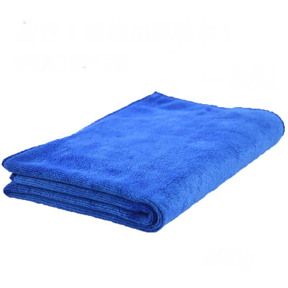 Large Microfiber Towel Car Cleaning Wash Drying Polishing Cloth 60*160cm Blue