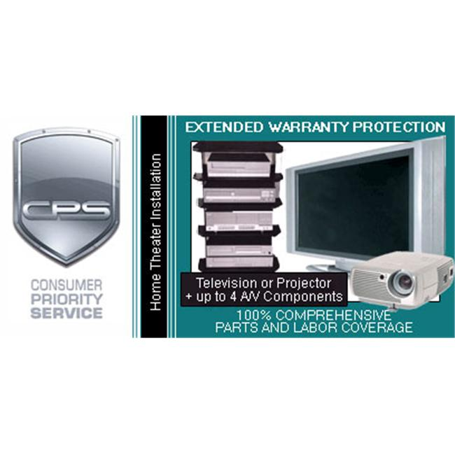 Consumer Priority Service HTI4-15000 4 Year Home Theater System under $15 000.00