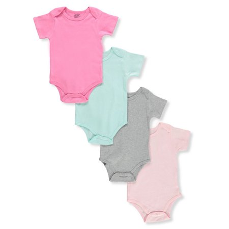 - Sweet & Soft Baby Girls' 4-Pack Bodysuits