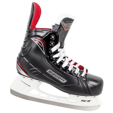 New Bauer Vapor X400 1045936 Youth US 4 D Black/Red Ice