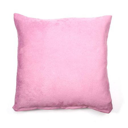 WALFRONT 1PC Square Cushion Cover Home Decor Pure Color Pillow Case Cotton Canvas Throw Pillow Cover 18in *