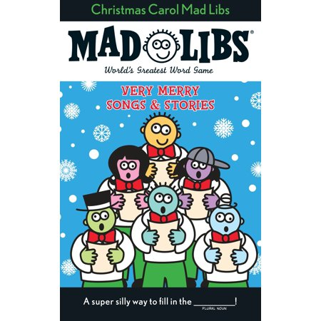 Stocking Stuffer Ideas For Kids (Christmas Carol Mad Libs : Stocking Stuffer Mad)