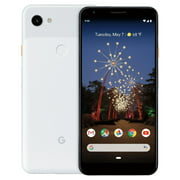 Google - Pixel 3a XL with 64GB Cell Phone (Unlocked) - Clearly White (Refurbished)