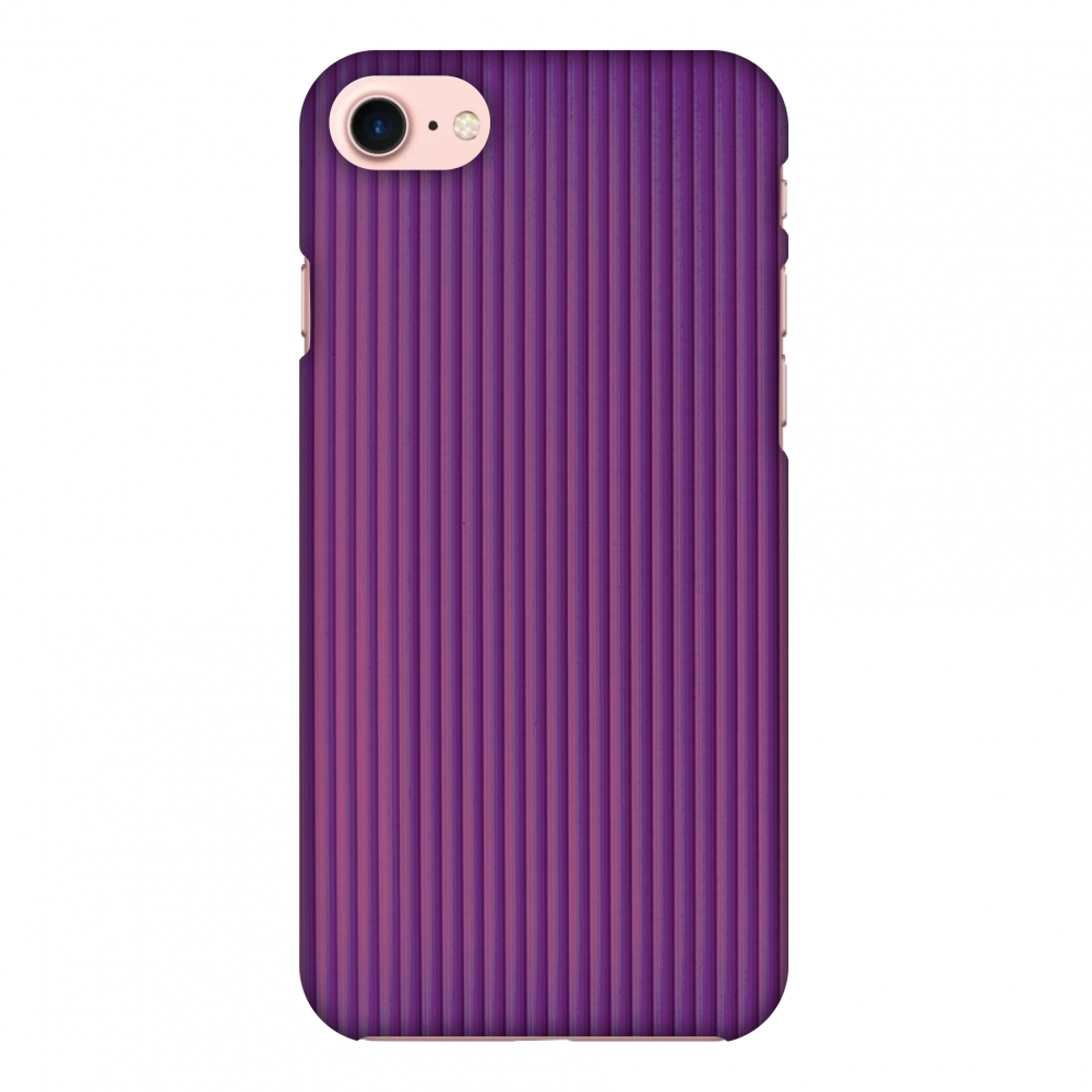 iPhone 7 Case, Premium Handcrafted Designer Hard Shell Snap On Case Printed Back Cover with Screen Cleaning Kit for iPhone 7, Slim, Protective - Carbon Fibre Redux Electric Violet 7
