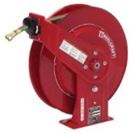 Reelcraft 523-TW7450OLP .25 in. X 50Ft, 200 Psi, Gas Welding Hose Reel With Hose - image 1 de 1