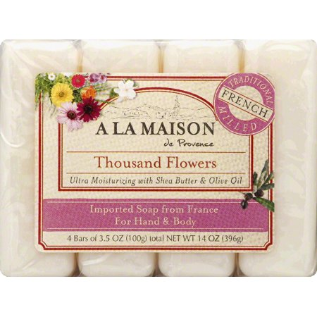 a la maison soap thousand flowers value pack