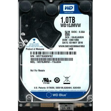 Wd10jmvw 11Ajgs4 Dcm  Ebkt2bk Wxt1e Western Digital 1Tb