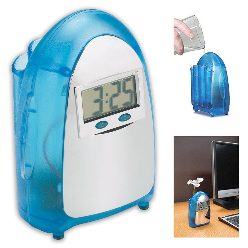 Eco-friendly Amazing Water Powered Digital LCD Clock Novelty Self Energy New ! by Princess International