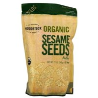 Woodstock Organic Whole Hulled Sesame Seeds, 12 Oz