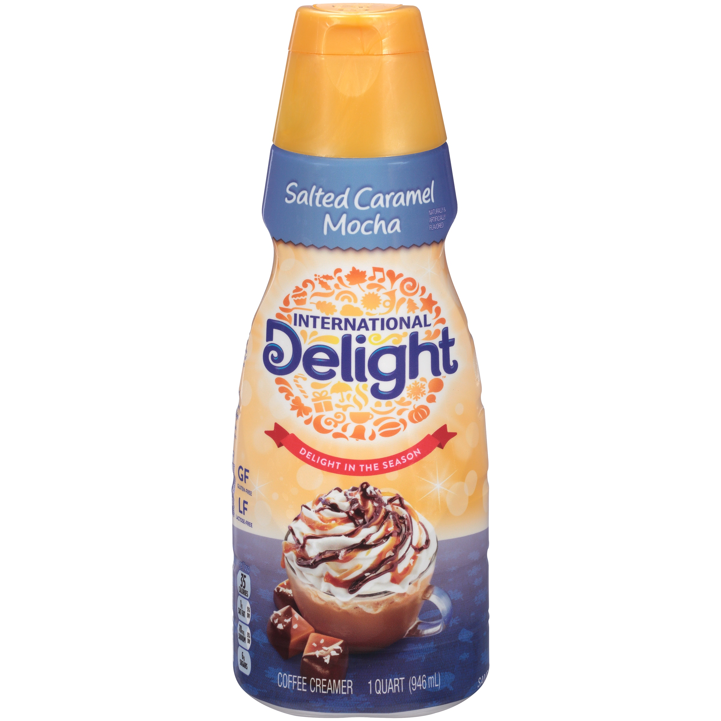 International Delight Salted Caramel Mocha Coffee Creamer, 32 oz