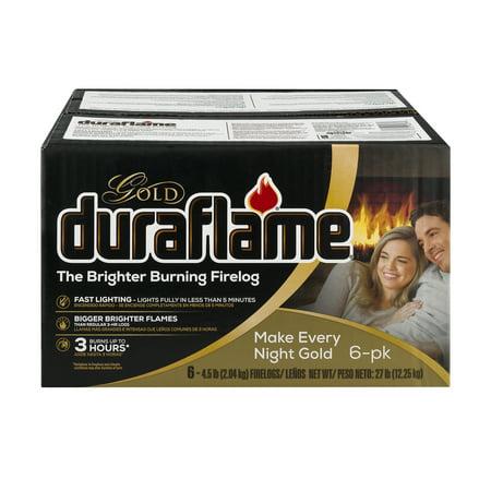 duraflame Gold 4.5lb 3-hr Firelog – 6pk