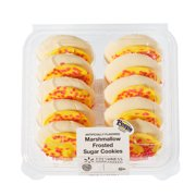 Freshness Guaranteed Peeps Inspired Marshmallow Frosted Sugar Cookies, 13.5 oz, 10 Count