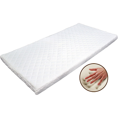 3 Quot Memory Foam Topper With Quilted Cover Walmart Com