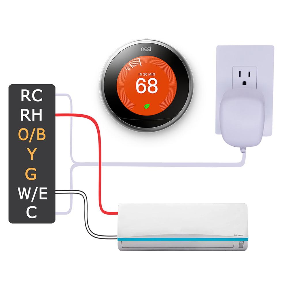 AC Adapter For RHD240030 Ecobee Nest Honeywell Smart Wifi Thermostat Doorbells
