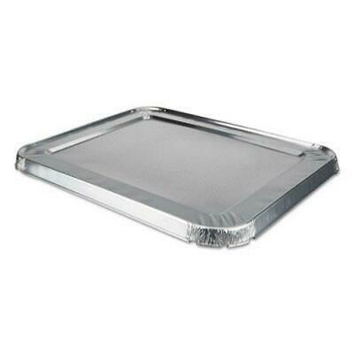 Edge Foil (Durable Packaging Foil Lids, 10 9/16w x 5/8d, Safety Edge, 100 Lids)