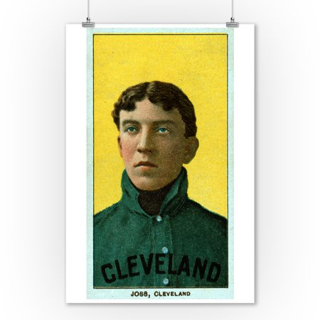 Cleveland Naps   Addie Joss   Baseball Card  9X12 Art Print  Wall Decor Travel Poster