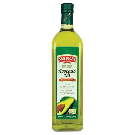 - San Lucas 100% Pure Avocado Oil Kosher 1 Liter (33.8 Fl Oz)
